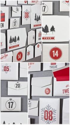 Envelope Advent Calendar from Envelopments