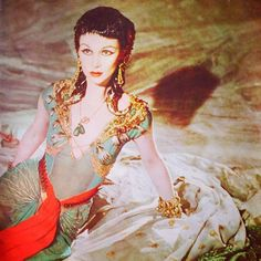 Vivien as the Queen of the Nile in Caesar and Cleopatra (1945)