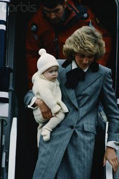 Diana and Harry. My kids will know about one of the best mums in the world.