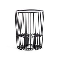 Drum Side Table Black, $95, now featured on Fab.