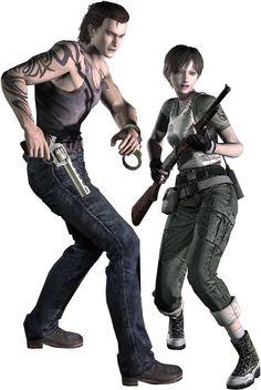 Resident Evil 0 ~ Billy Coen and Rebecca Chambers SHIP SHIP SHIPPITY SHIP