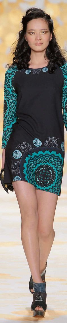 @roressclothes closet ideas women fashion outfit clothing style apparel Desigual Collection Fall 2014 Ready