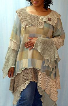 Putty & Beige Tunic | Flickr - Photo Sharing!