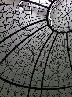 Leaded Glass Detail by Solarium Design, via Flickr