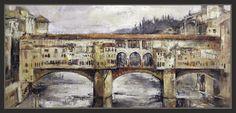 Ernest Descals.Artista Pintor: PONTE VECCHIO-FLORENCIA-PINTURA-CUADROS-ITALIA-PAI...