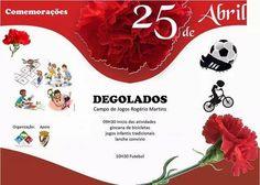 Campomaiornews: Freguesia de Degolados comemora os 41 anos da revo...
