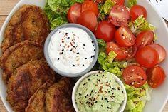 The lens-Falafel - Low Carb - Detox Recipes Veggie Recipes, Healthy Recipes, Salmon Recipes, Easy Brunch Recipes, Family Meals, Low Carb, Clean Eating, Food Porn, Veggies