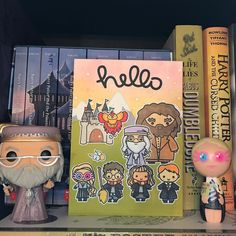 Harry Potter themed greeting card- sweet stamp shop- lawnfawn- special requests always welcome-