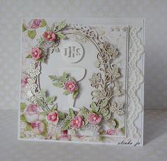 Witajcie serdecznie w ostatnich dniach lutego :) Cały miesiąc poświęciłyśmy na prace z dwoma markami - Craft and You Design oraz Minta... Adult Crafts, Diy And Crafts, Paper Crafts, Craft It Yourself, Christian Cards, Shabby Chic Cards, Heartfelt Creations, Love Cards, Mosaic Art