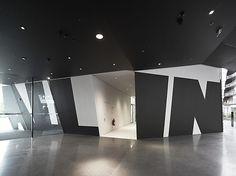 TYPOGRAPHY IN ARCHITECTURE    modern interiors design buro uebele