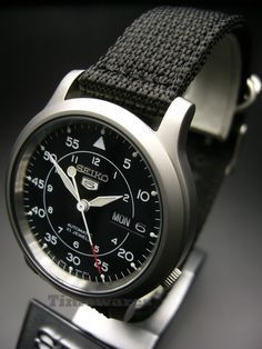 Seiko 5 SNK809 -$100 Sometimes simplicity can be a good thing