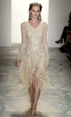 off white #macrame #dress