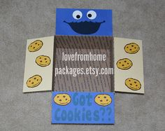 Minion Care Package Flaps by LoveFromHomePackages on Etsy