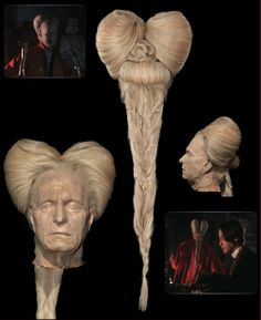 """Gary Oldman's """"Dracula"""" wing and production head from BRAM STOKER'S DRACULA 1992"""