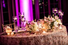 A glamorous Palm Beach wedding at The Breakers never fails to make us swoon especially when it has a classic and timeless vibe. Uplighting Wedding, Ballroom Wedding, Bridal Party Tables, Wedding Table Decorations, Breakers Palm Beach, Palm Beach Wedding, Strictly Weddings, Pink Bridesmaid Dresses, Sweetheart Table