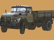 On-Board Truck Amur-53131 (ZiL-130) Free Vehicle Paper Model Download