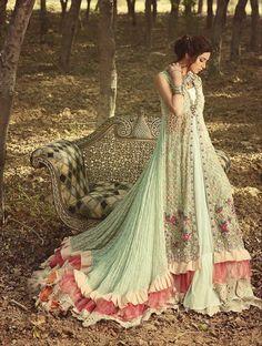 Spring Pak Couture Anarkali