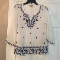 Lucky Brand top Top in perfect condition. Comes from smoke free home. Lucky Brand Tops Blouses