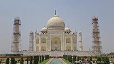 O emblemático Taj Mahal em Agra, Índia