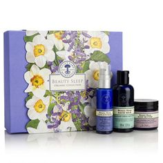 Beauty Sleep Organic Collection. Our blissfully calming organic collection works while you sleep, to leave skin silky-smooth by morning, so all skin types can wake up beautiful.   Beauty Sleep Concentrate, enriched with narcissus extract, supports skin's natural night time regeneration, replenishing and recharging as you sleep.  The calming aroma is a blend of organic ylang ylang, patchouli and cypress essential oils, to help you drift off naturally, ready to wake up beautiful. For all skin…