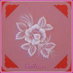 Tutoriel Création d'une carte en papier parchemin Pergamano par Sylvie de Avec Passion