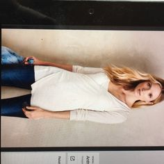 """Brand new anthropologie top!! Brand new in the bag it came from when ordered online! Color is """"ivory"""" Anthropologie Tops Tees - Long Sleeve"""
