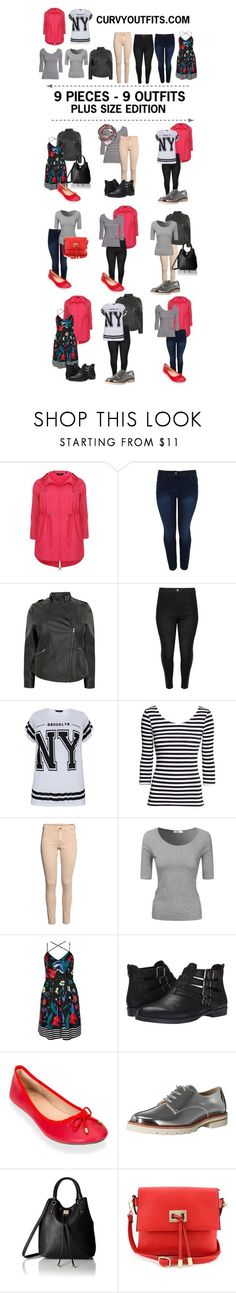 9 pieces - 9 outfits plus size spring edition