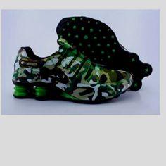 camo Nike Shox. LOVE! Want thoses
