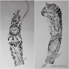Explore tattoo man tattoo art and more sleeve full sleeves tatoo tattoo Half Sleeve Tattoos Designs, Arm Sleeve Tattoos, Tattoos Skull, Sleeve Tattoos For Women, Tattoo Designs For Women, Forearm Tattoos, Body Art Tattoos, Tribal Tattoos, Jesus Tattoo Sleeve