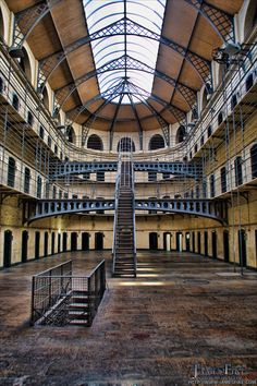 Kilmainham Gaol(jail) in Ireland  visted in Oct 2012 very depressing place