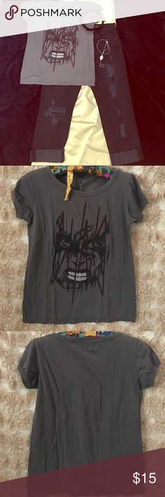 BITNB vs Ashkahn King Diamond Women's T-Shirt L I don't remember seeing too many of the women's version of this shirt with the cap sleeve... Blood is the New Black Tops Tees - Short Sleeve