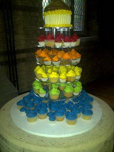 Rainbow+Wedding+Cake | Cat's Rainbow Wedding Cake