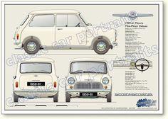 Morris Mini-Minor Deluxe 1959 to 61