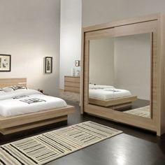 1000 id es sur le th me armoire porte coulissante miroir sur pinterest - Armoire dressing portes coulissantes miroir ...
