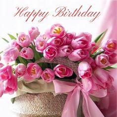 Happy Birthday Flowers Wishes, Happy Birthday Cards Images, Happy Birthday To Her, Happy Birthday Cake Photo, Happy Birthday Greetings Friends, Happy Birthday Pictures, Happy Birthday Messages, Birthday Images, Wedding Anniversary Wishes