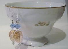 Swarovski Crystal Earrings & Matching Pendant by mamabecca73, $14.95
