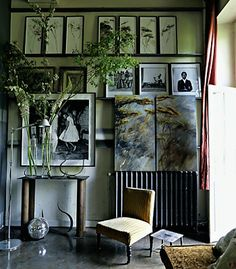 Claire Basler's studio, from Roseland Greene