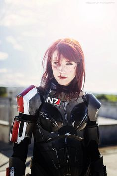 Mass Effect's Commander Shepard, Reporting For Duty