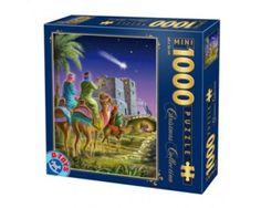Puzzle D-Toys Llegada de los Reyes Magos (Piezas Miniatura) de 1