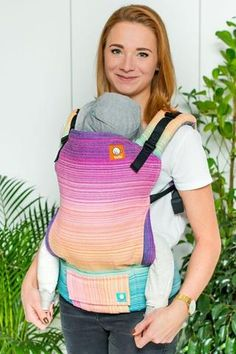 Half Standard Wrap Conversion Baby Carrier - Template: Half Standard Wrap Conversion Baby Carrier - Template has beauty of woven wrap & the ease and comfort of Tula Baby Carriers. Woven Wrap, Baby Wearing, Conversation, Infant, Baby Carriers, Pink, Template, Babies, Baby