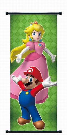 Size: 104 X 40 CM Set of: 1 Weight: 128 g Princess Toadstool Peach Wall Decorations Cosplay