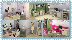 Jenni Sims: Bedroom Minnie Mouse by Faby&Jenni • Sims 4 Downloads
