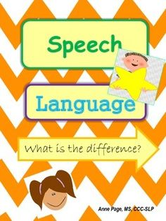 This FREE download explains the difference between speech and language. We as SLPs know there is a huge difference. I created these posters/handouts using parent friendly language and visuals for use when you need to give a brief explanation. Perfect to use as posters in the speech/language room, teacher's lounge, and school conference room.