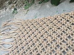 Natural Macrame Jute Rug Brown Jute Rug Natural Jute Rope