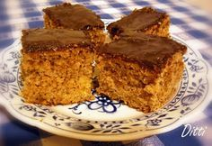 Ditti módra: Diós-almás bögrés süti