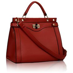 Size: x High.This bag comes with long strap.Zippered and open inside pockets for accessories Hermes Kelly, Fashion Bags, Best Gifts, Satchel, Backpacks, Tote Bag, Handbags, Red, Leather