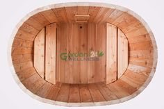 Basic wooden ofuro hot tub with external heater #hottub #ofuro #woodburning
