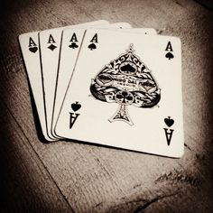 #Poker #Cards #Aces #Spades #Diamonds #Heart #Flowers