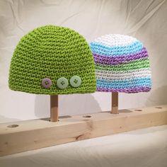 Baby Beanie /  Toque Set by EmmandSkootch on Etsy