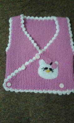 """Discover thousands of i Designer Knitting Patterns, Shawl Patterns, Baby Knitting Patterns, Knit Vest Pattern, Crotchet Patterns, Craft Free, Cross Stitch Baby, Baby Vest, Free Baby Stuff"